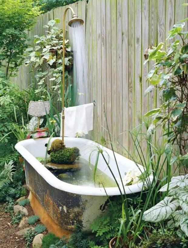 Нетривиальные идеи использования старой ванны