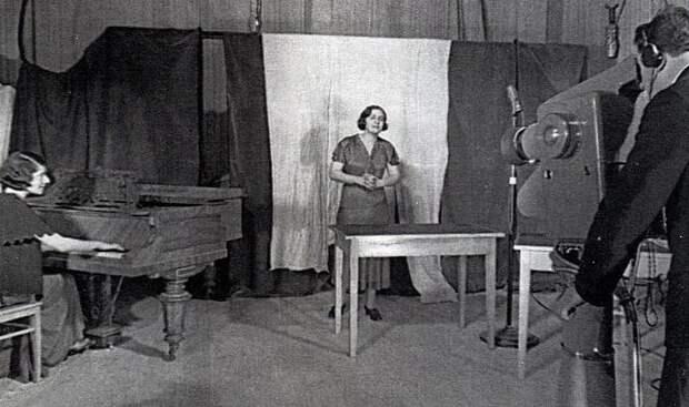 Одна из первых передач Ленинградского телецентра 1938 г. Весь Мир, история, фотографии