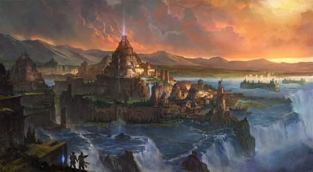 Атлантида - исчезнувшая цивилизация