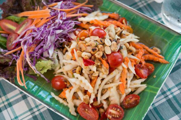 Самое простое блюдо с топинамбуром - овощной салат