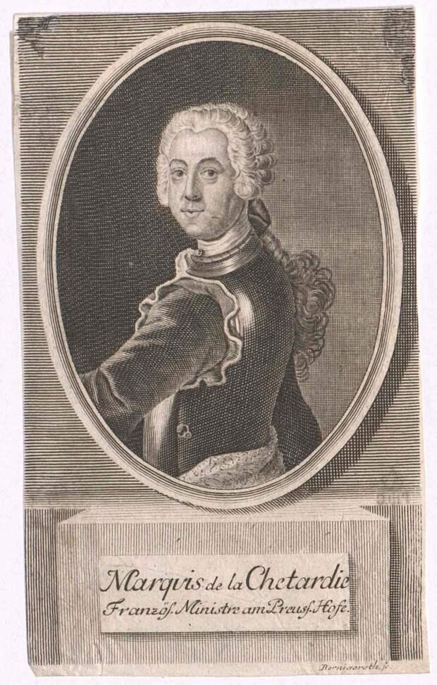 Жак-Иоахим Тротти маркиз де ла Шетарди