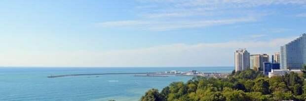 Пляжи Сочи признаны безопасными для туристов
