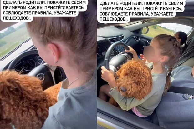 Госдума не примет меры к депутату, усадившему 10-летнюю дочь за руль