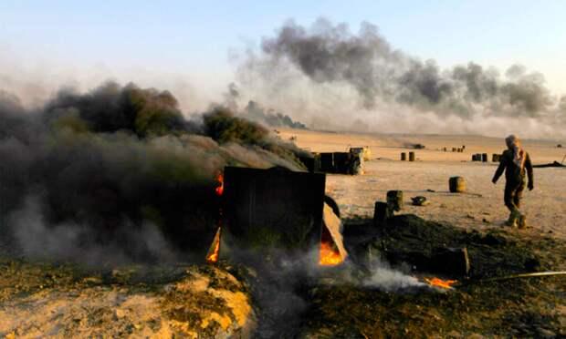 Боевики Хомса бросают нефть Эрдогана под шквалом артиллерии Асада