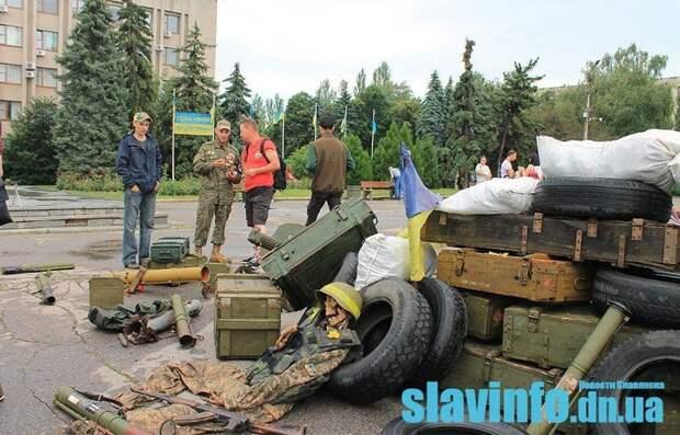 Глумление над Славянском: Лях из 54-й бригады имени Мазепы