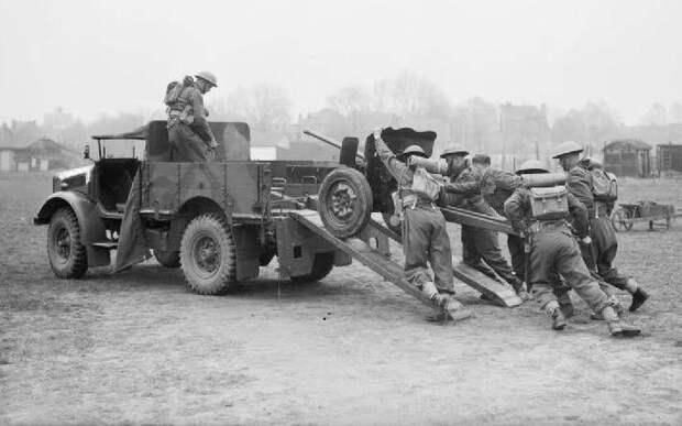 Трофейные бельгийские, британские и французские противотанковые орудия в ВС Германии во Вторую мировую