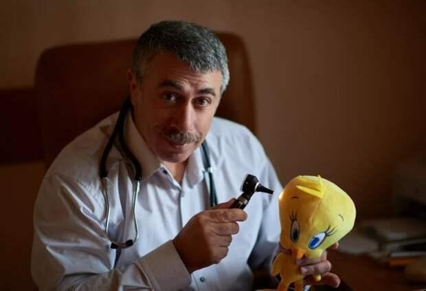 Доктор Комаровский перечислил места с максимальным риском заражения COVID-19