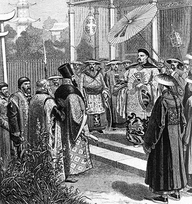 Р. Штайн. Русские послы XVII века в Китае