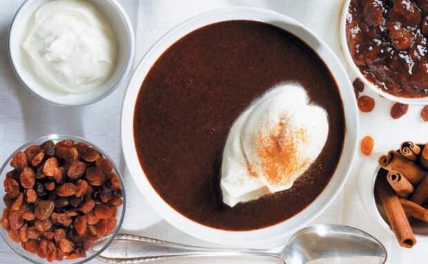 Оригинальный суп из хлеба. \ Фото: google.com.