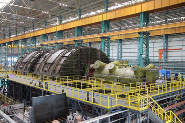 """""""Силовые машины"""" создали рабочую тихоходную турбину для АЭС"""