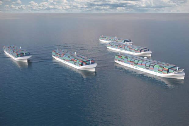 В РФ запустят первый проект движения морских беспилотников