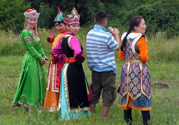 Такие разные монголки.