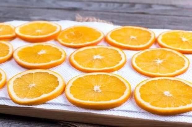 Сушеные апельсины: вкусное угощение и красивая идея для декора. Этап: 3