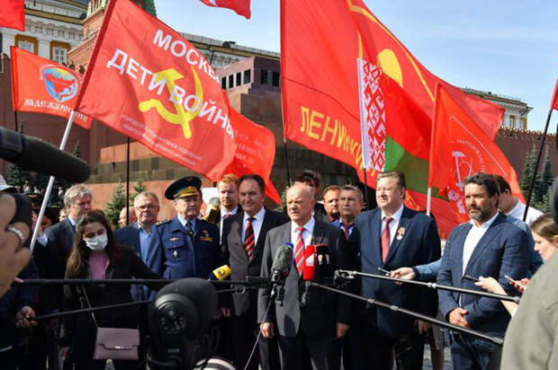 Зюганов высказался о конкурсе по использованию мавзолея без Ленина