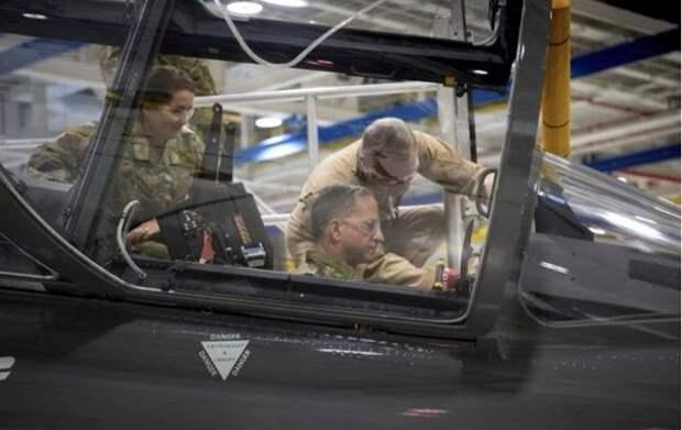 ВВС США испытали прототип истребителя нового поколения