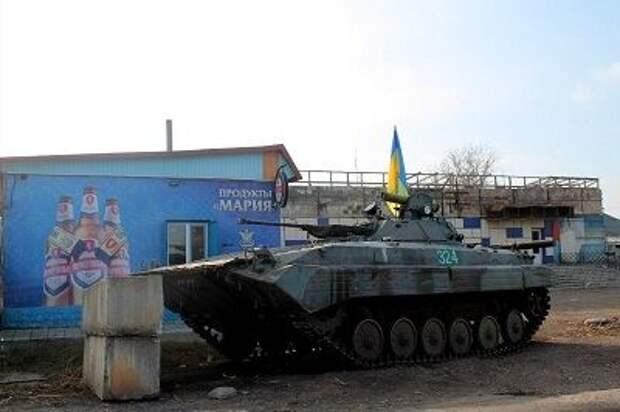 Киев размещает бронетехнику ВСУ в жилых районах Донбасса
