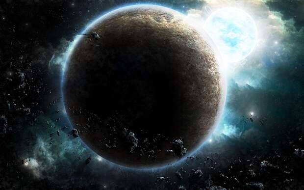 Огромный вытянутый объект прошел между Землей и далекой звездой в центре нашей галактики