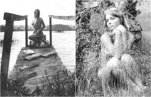 Первые официально опубликованные фотографии в жанре «ню» в эпоху советской цензуры.