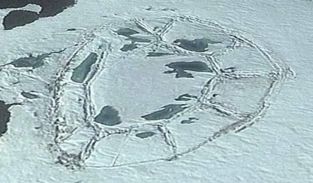 В неизведанном регионе Антарктиды обнаружили неизвестную «рукотворную» структуру