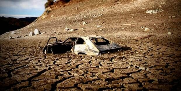Калифорния, 2014 год, засуха