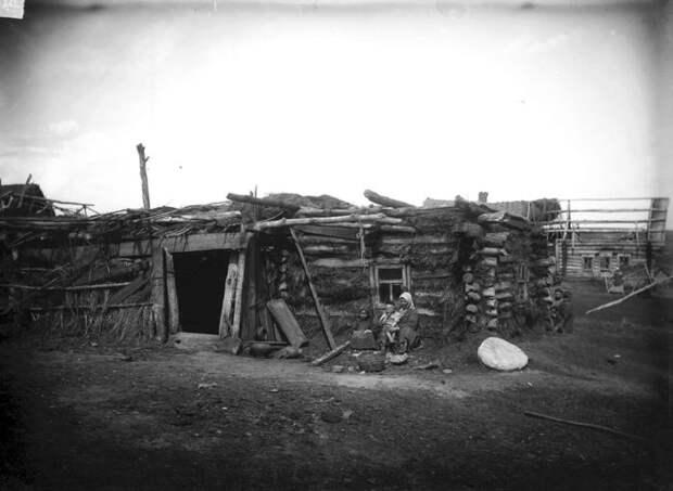 Изба татарина Тарипджанова. Нижегородская губерния, Сергачский уезд, 1891-1892 год.