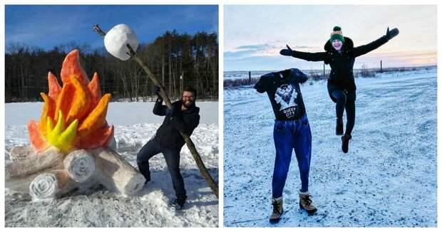 22 фото, которые показывают суровые проделки мороза