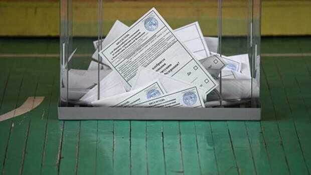 В Раменках аннулировали бюллетени на участке, где нашли нарушения