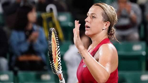Павлюченкова обыграла Киз на старте турнира в Мадриде