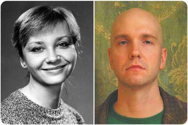Дети Леонида Куравлева: дочь Екатерина и сын Василий