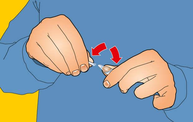 Как самому сделать укол