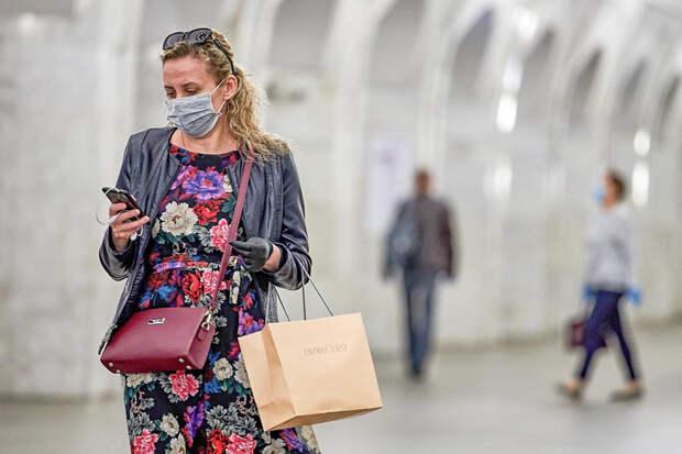В Москве организуют проверки на наличие масок и перчаток у пассажиров на всех станциях метро