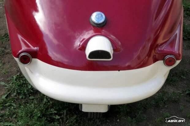 Достаточно взглянуть на переднюю часть Fuldamobil снаружи и внутри - и все становится на свои места! Fuldamobil, авто, автомобили, малолитражка, олдтаймер, ретро авто