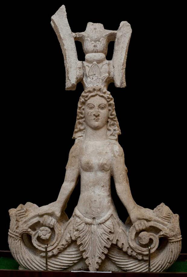Скифская Змееногая богиня – прорастающая дева