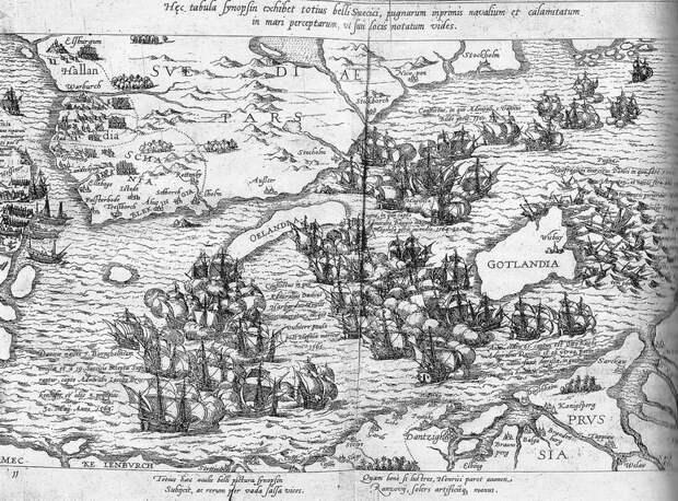 Сражение у Борнхольма, 1563 год - Датский флот Нового времени: становление   Warspot.ru