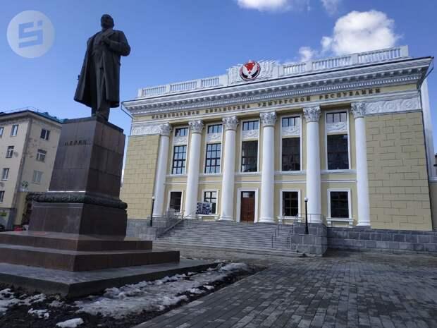 Реконструкция Национальной библиотеки Удмуртии закончится ближе к осени