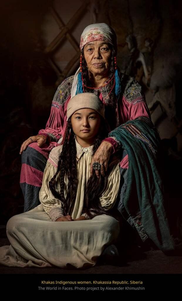 Фото, которые показывают красоту исчезающих народов мира