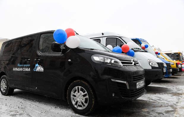 40 многодетных семей Верхневолжья при поддержке области приобрели автомобили