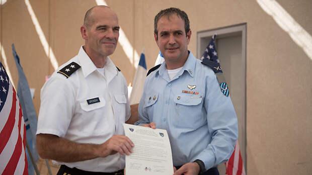 Впервые: постоянная база США в Израиле