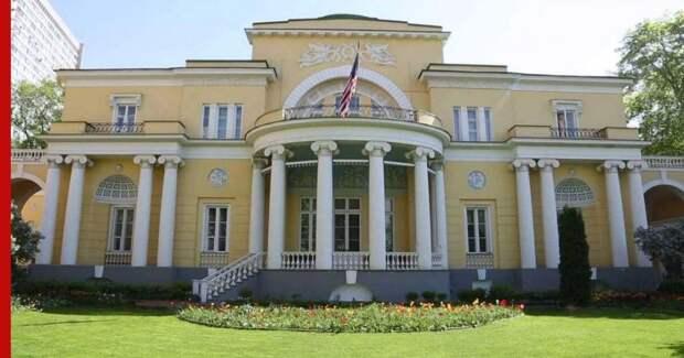 В резиденцию посла США в Москве прорвался неизвестный