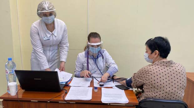 Пункт вакцинации откоронавируса заработал навокзале «Ростов-Главный»