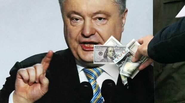 Портнов рассказал, как Порошенко вынес 340 килограмм стодолларовых купюр