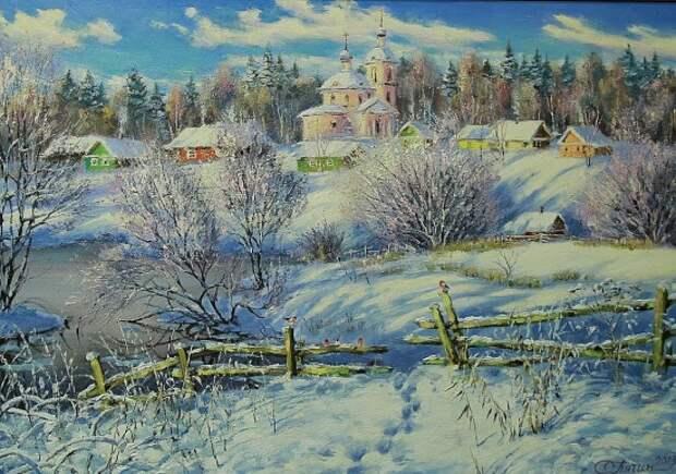 художник Олег Пятин картины – 19