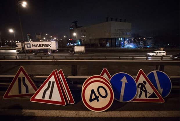 Знаки, стрелки и светофоры: дорожников обяжут делать ремонт заметнее