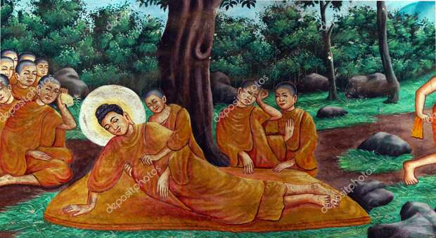 Притча о последних Словах Будды.