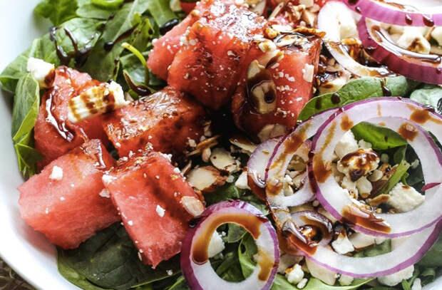 Как превратить арбуз в красивое блюдо
