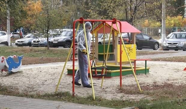 ВБелгороде возобновили санитарную обработку вподъездах многоквартирных домов