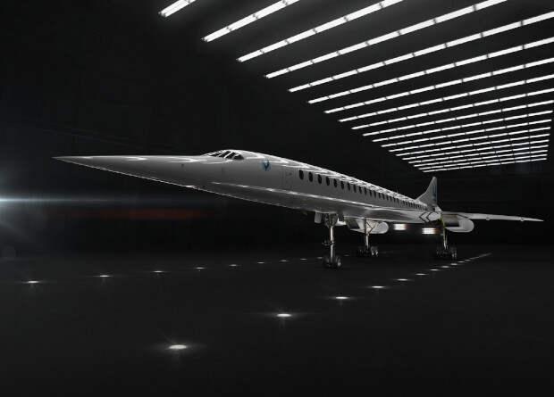 Rolls-Royce разработает двигатель для сверхзвукового пассажирского самолета