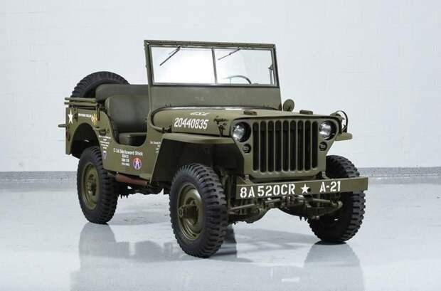 Jeep Willys авто, автодизайн, автомобили, внедорожник, двери, дверь, дизайн, интересные автомобили