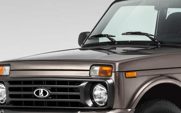Обновленная Lada 4x4 —  первое фото экстерьера