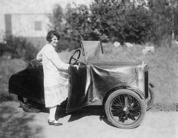 Как выглядела Zaschka Three Wheeler, первая вмире складная машина
